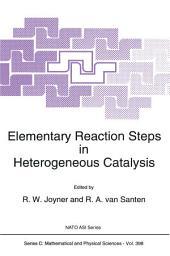 Elementary Reaction Steps in Heterogeneous Catalysis