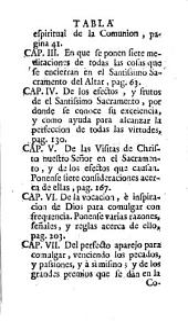 Obras espirituales del venerable padre Luis de la Puente, de la Compañia de Jesus ...: Volumen 26