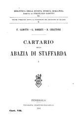 Cartario della Abazia di Staffarda: Volume 11
