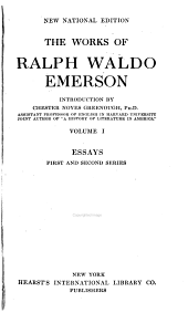 The Works of Ralph Waldo Emerson: Volume 1