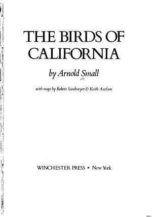 The Birds of California PDF