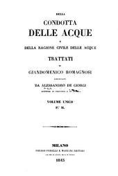 Della condotta delle acque e della ragione civile delle acque: Volume 2