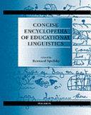 Concise Encyclopedia of Educational Linguistics PDF