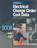 2008 Means Electrical Change Order Cost Data PDF
