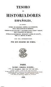 Tesoro de historiadores españoles...