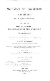 Mechanics of Engineering and Machinery: Volume 3, Issue 1
