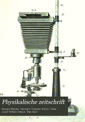 Physikalische Zeitschrift: Band 5