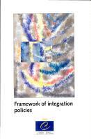 Framework of Integration Policies PDF