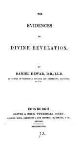 The evidences of divine revelation