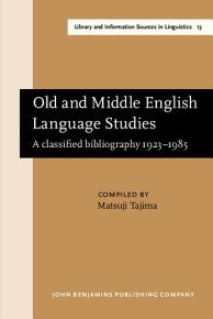 Old and Middle English Language Studies PDF