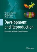 Development and Reproduction in Humans and Animal Model Species PDF