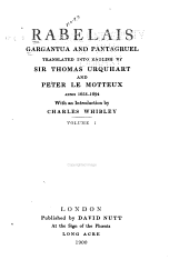 Gargantua and Pantagruel: Volume 24