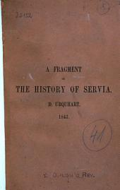 A Fragment of the History of Servia