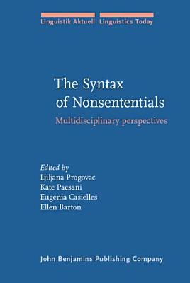 The Syntax of Nonsententials PDF
