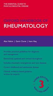 Oxford Handbook of Rheumatology: Edition 3