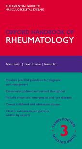 Oxford Handbook of Rheumatology: Edition 3