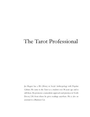 The Tarot Professional
