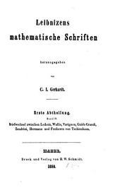 Mathematische Schriften: Band 4