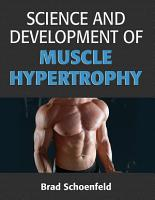 Science and Development of Muscle Hypertrophy PDF