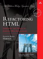 Refactoring HTML PDF
