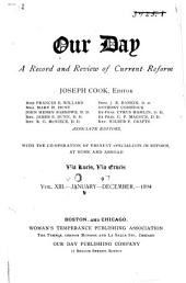 Our Day: A Record and Review of Current Reform ..., Volume 13
