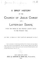 A Brief History of the Church of Jesus Christ of Latter day Saints PDF