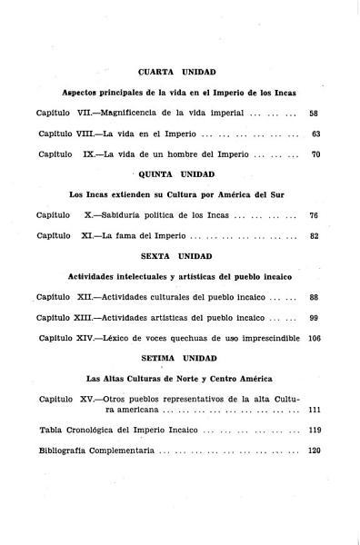 Historia Del Peru Periodo Autoctono