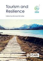 Tourism and Resilience PDF