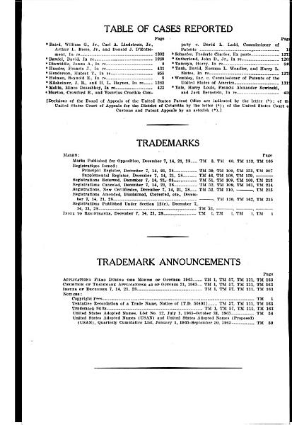 Download Official Gazette of the United States Patent Office Book