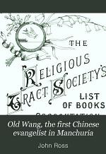 Old Wang, the First Chinese Evangelist in Manchuria
