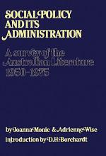 Social Policy and Its Administration PDF