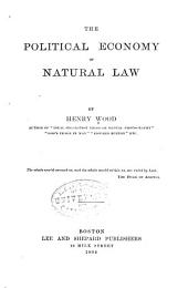 The Political Economy of Natural Law