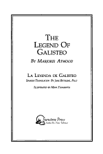 The Legend of Galisteo