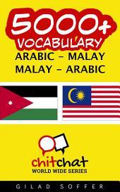 5000+ Arabic - Malay Malay - Arabic Vocabulary