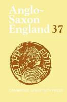 Anglo Saxon England  Volume 37 PDF
