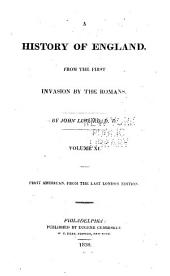 A history of England: from the first invasion by the Romans, Volumes 11-12