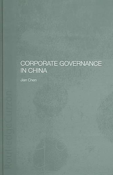 Corporate Governance in China PDF