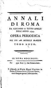 Annali di Roma ...: Volume 9