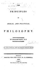 The Principles of Moral and Political Philosophy