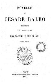 Novelle di Cesare Balbo