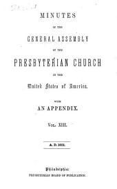 Minutes - United Presbyterian Church in the U.S.A.: Volume 13