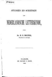 Studiën en schetsen van Nederlandsche letterkunde