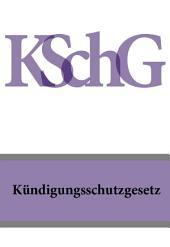 Kündigungsschutzgesetz – KSchG