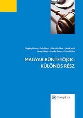 Magyar Büntetőjog - Különös Rész