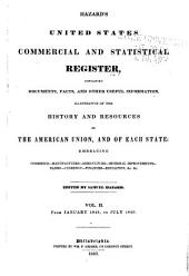 Hazard's United States Commercial and Statistical Register: Volume 2