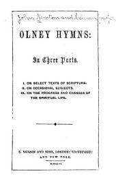 Olney Hymns: In Three Parts