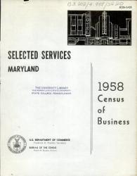 1958 Census Of Business Book PDF