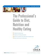 The Professionals' Guide to Diet, Nutrition and Healthy Eating