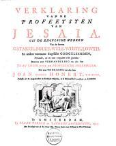Verklaring van de profeetsyen van Jesaia: Volume 1