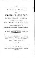 The History of Ancient Greece  Its Colonies  and Conquests PDF
